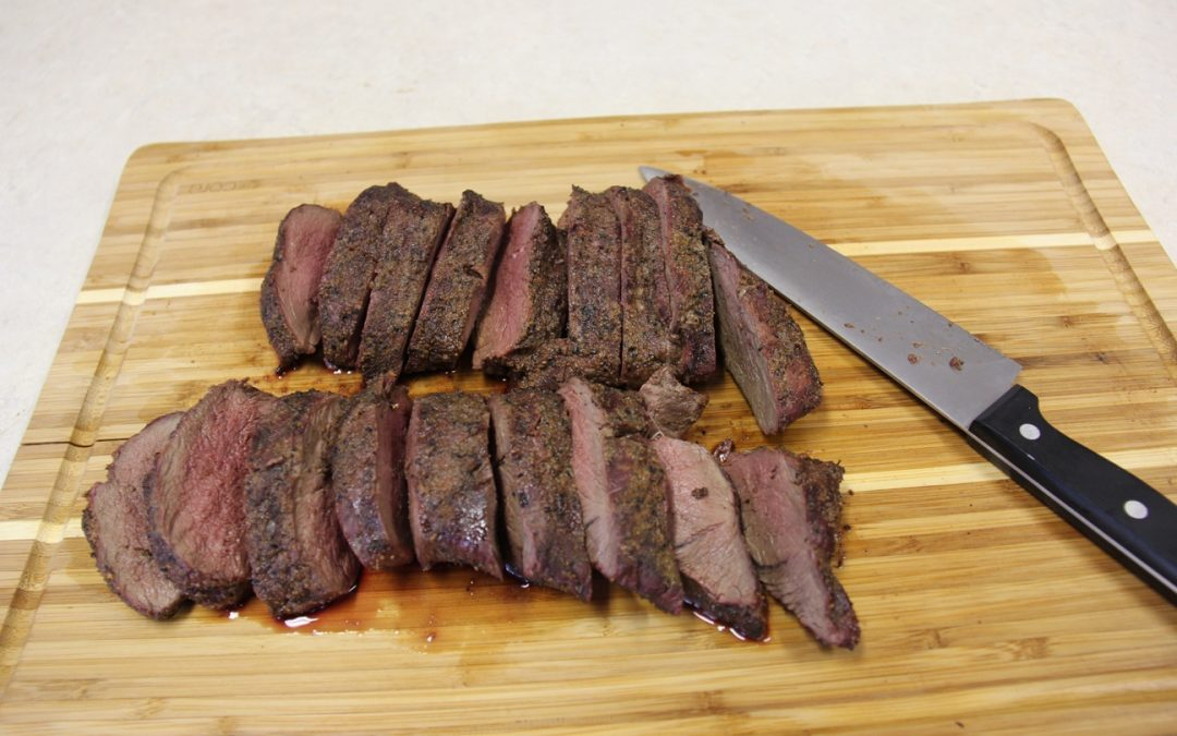 Perfect, Succulent Venison Loin