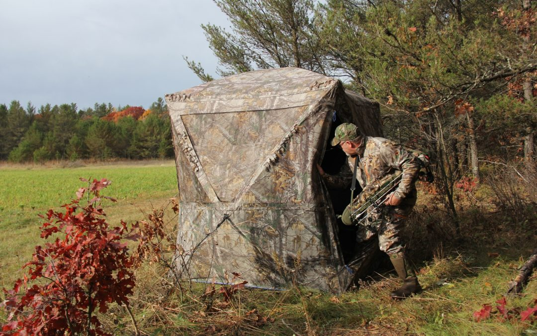 Ground Blind Strategies for Late Hunts