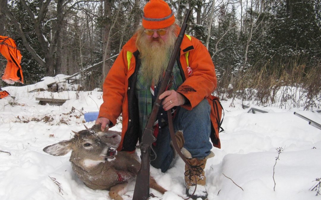 History comes alive: Shooting a deer with a 153-year-old gun