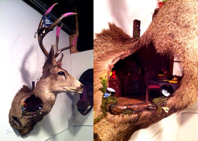 13 of the most bizarre deer mounts you've ever seen!